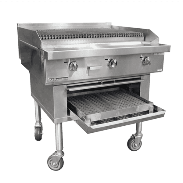 Southbend P60W-CCCCC Platinum Wood Smoker Charbroiler