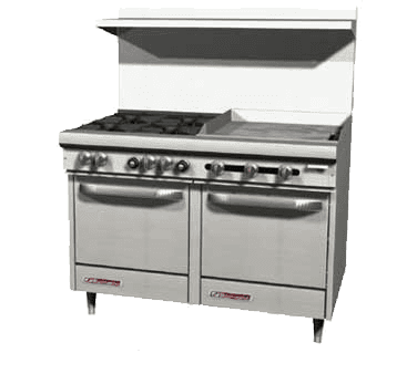 Southbend S48AC-3TR S-Series Restaurant Range