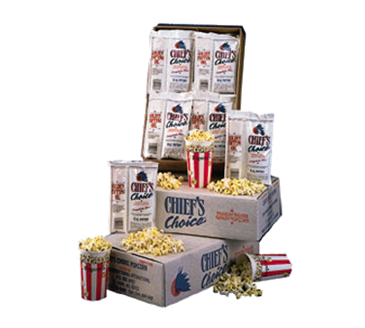 "Star Mfg. CC24-8OZ Chief's Choice"" Portion Pack Popcorn"