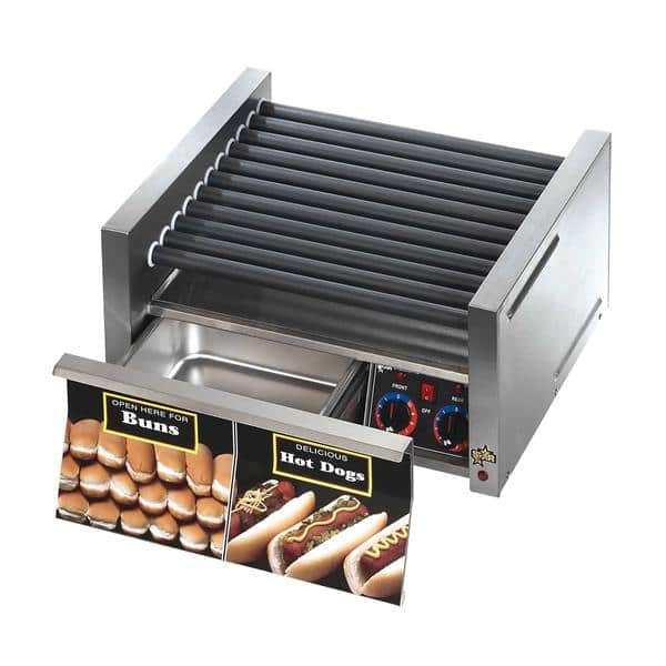 Star Mfg. 30STBD Star Grill-Max Pro Hot Dog Grill