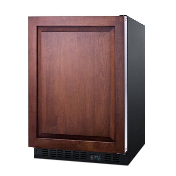 Summit Commercial SCR610BLSDIF 23.63'' 1 Section Undercounter Refrigerator with 1 Right Hinged Solid Door and Front Breathing Compressor