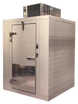 "Tafco Tafco TCI667S Indoor Walk-In Cooler (6 x 6) 5' 10"" x 5' 10"" x 7' 2 1/2"""