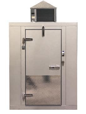 "Tafco Tafco TCO10107S Outdoor(10 x 10) 9' 8"" x 9' 8"" x 7' 2 1/2"" Walk-In Cooler"