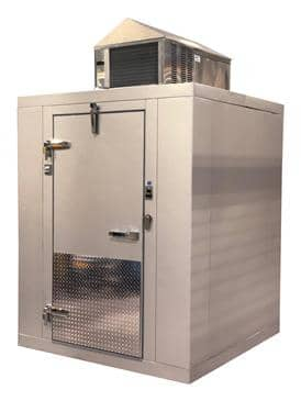 "Tafco Tafco TFO10107F Indoor Walk-In Freezer (10 x 10) 9' 8"" x 9' 8"" x 7' 6 1/2"""