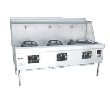 Town Equipment M-3-STD MasterRange® Wok Range