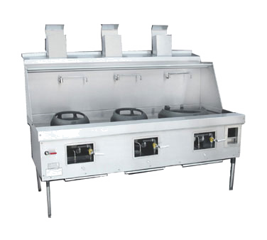 Town Equipment MF-3-STD MasterRange® Wok Range