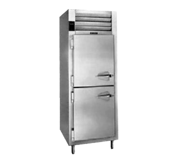 Traulsen Traulsen AHT126WPUT-HHS 29.88'' 20.4 cu. ft. 1 Section Solid Half Door Stainless Steel and Aluminum Pass-Thru Refrigerator