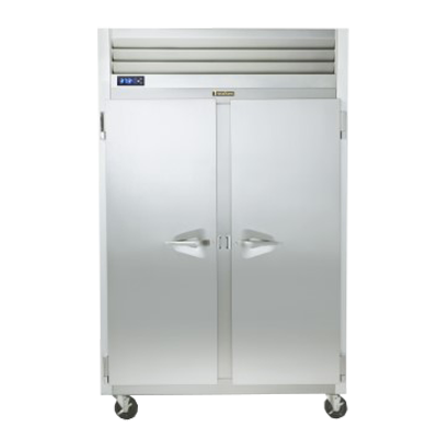 Traulsen G20010 52.13'' 46 cu. ft. Top Mounted 2 Section Solid Door Reach-In Refrigerator