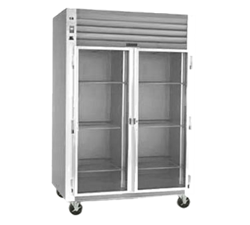 Traulsen G21010R Dealer's Choice two-section Glass Door Refrigerator
