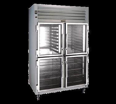 Traulsen Traulsen RHT232W-HHG 58'' 51.6 cu. ft. Top Mounted 2 Section Glass Half Door Reach-In Refrigerator