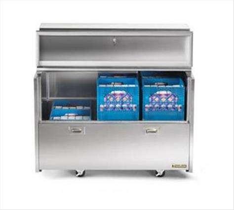 Traulsen RMC34D4 Dealer's Choice Forced-Air Double Access Milk Cooler