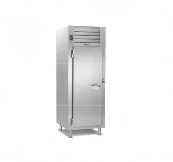 """Traulsen RR132L-COR01 35.5"""" Top Mounted 1 Section Roll-in Refrigerator with 1 Right Solid Door - 36.0 cu. ft."""
