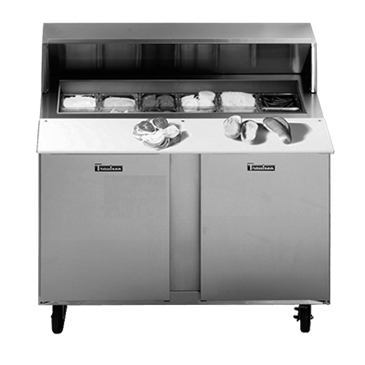 Traulsen UPT6012RR-0300-SB Compact Prep Table