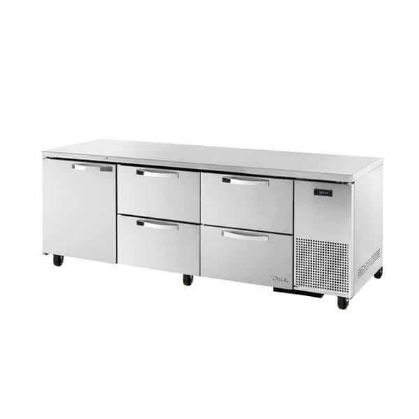 True Manufacturing Co., Inc. TUC-93D-4-HC~SPEC3 SPEC SERIES® Deep Undercounter Refrigerator