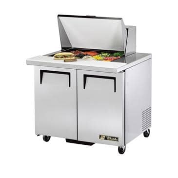 True Manufacturing Co., Inc. Manufacturing Co., Inc. TSSU-36-12M-B-HC Mega Top Sandwich/Salad Unit