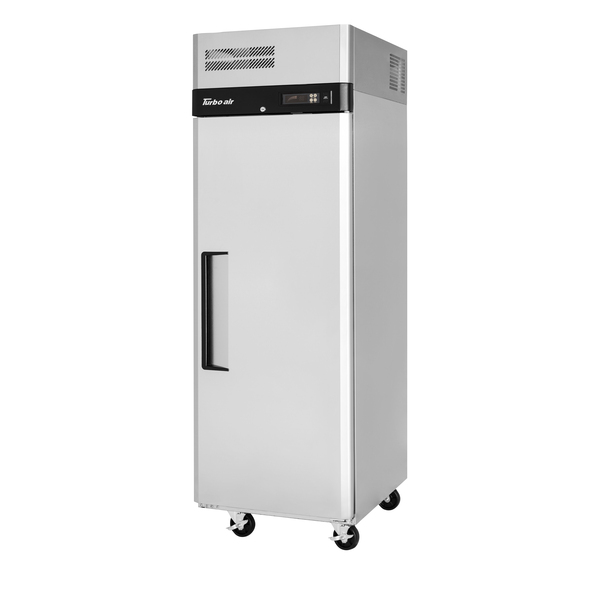 Turbo Air M3R19-1-N 25.25'' 18.44 cu. ft. Top Mounted 1 Section Solid Door Reach-In Refrigerator