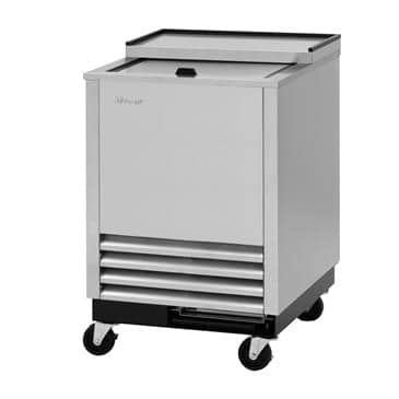 Turbo Air TBC-24SD-GF-N6 4.39 Cu. Ft. Super Deluxe Glass Chiller & Froster