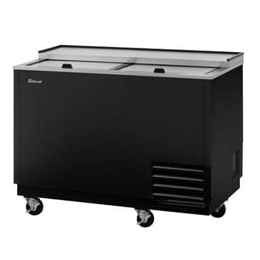 Turbo Air TBC-50SB-GF-N 13.85 Cu. Ft. Super Deluxe Glass Chiller & Froster