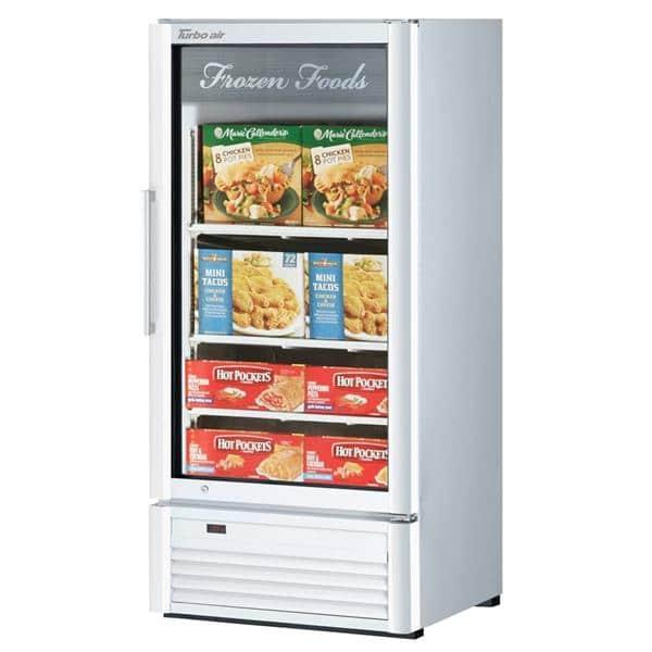 Turbo Air TGF-10SD-N Super Deluxe Glass Merchandiser Freezer