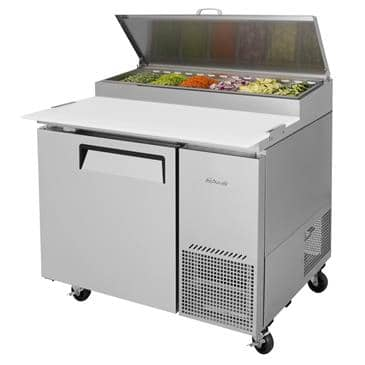 Turbo Air TPR-44SD-N 14 Cu. Ft. Super Deluxe Pizza Prep Table