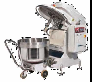 Univex SL250RB Silverline Spiral Mixer