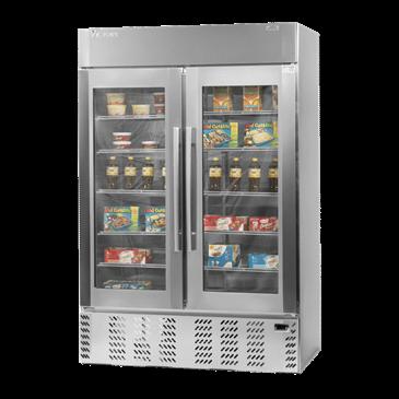 Victory Refrigeration LSF49G-1 UltraSpec Series Merchandiser Freezer Featuring