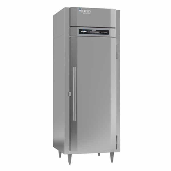 Victory Refrigeration Victory Refrigeration RS-1D-S1-EW-HC 31.25'' 24.08 cu. ft. Top Mounted 1 Section Solid Door Reach-In Refrigerator