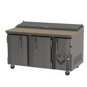 Victory Refrigeration Victory Refrigeration VPP60 UltraSpec Series Pizza Prep Table Featuring