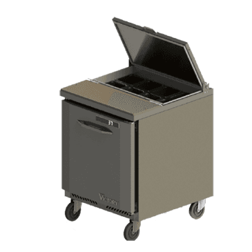 Victory Refrigeration Victory Refrigeration VSP27-08 UltraSpec Series Sandwich Prep Table Featuring