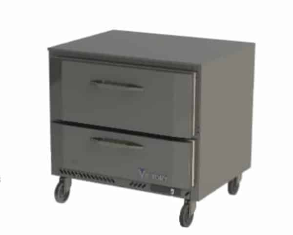 Victory Refrigeration Victory Refrigeration VURD36HC-2 UltraSpec Series Undercounter Refrigerator