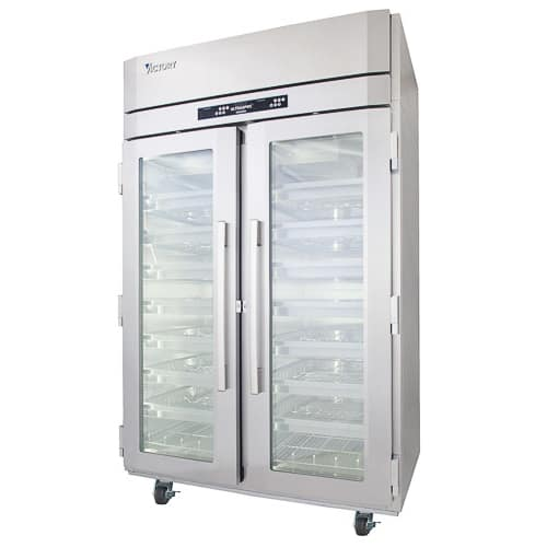 Victory Refrigeration Victory Refrigeration WCDT-2D-S1 Dual Temperature Refrigerated Wine Cooler
