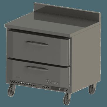 Victory Refrigeration VWRD36-2 UltraSpec Series Worktop Refrigerated Counter