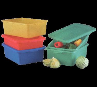 Vollrath 1535BRS6-C02 Traex® Color-Mate™ Food Storage Storage Box Combo