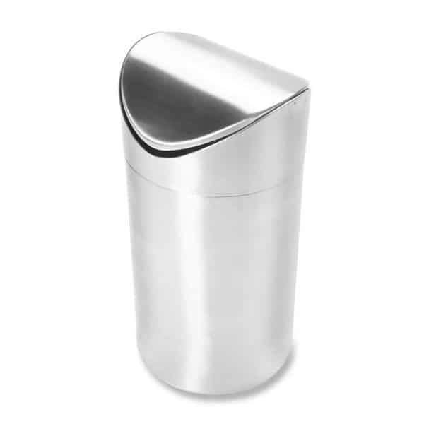 Vollrath 59781 Mini Waste Can with Swing Top