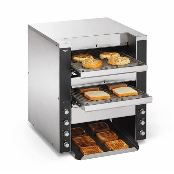 Vollrath CVT4-220DUAL Dual Conveyor Convertible Toaster