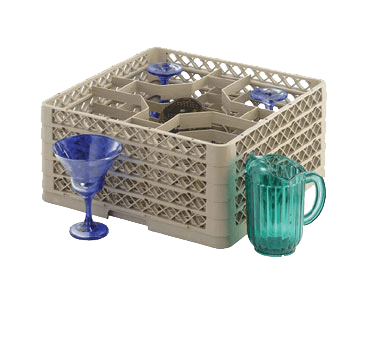Vollrath TR13KKKK Traex® Full Size Low Profile Glass/Stemware Rack