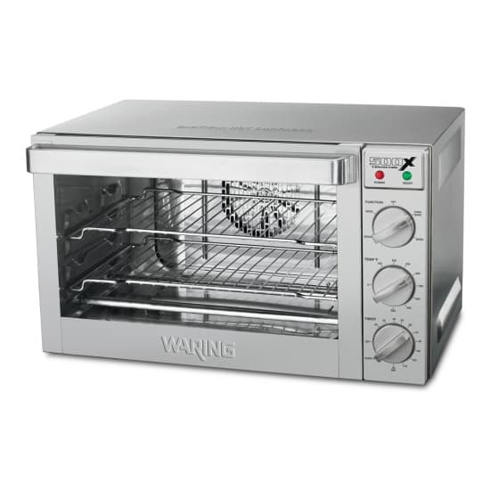 Waring WCO500X Single Deck Electric Convection Oven with Touchscreen Contols, 120 Volts