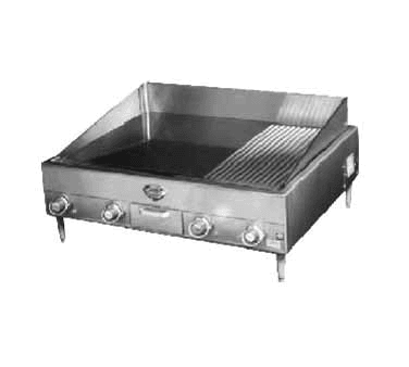 Wells G-23 G-Series 36.5'' Countertop Electric Griddle with Thermostatic Controls, 208 Volts