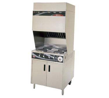 Wells WV-4HF VCS2000 Ventless Cooktop