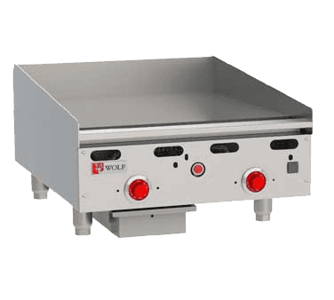 Wolf Range ASA24-30 Heavy Duty Gas Griddle