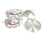 "Admiral Craft BRSS-15 Titan Series"" Induction Brazier Pot"