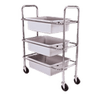 Admiral Craft DCRT Dish Cart