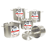 "Admiral Craft Admiral Craft SSP-100 Titan Series"" Induction Stock Pot"