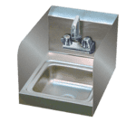 "Advance Tabco 7-PS-23-EC-SP-2X Special Value Hand Sink with 7 3/4"" side splashes"