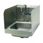 Advance Tabco 7-PS-56-1X Hand Sink with Side Splashes