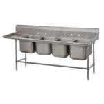 Advance Tabco 94-64-72-24R Regaline Sink