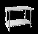 Advance Tabco AG-3011 Work Table