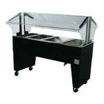 Advance Tabco B4-CPU-B Portable Cold Food Buffet Table