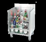 "Advance Tabco CRLR-30 Underbar Basics"" Liquor Bottle Display Unit"