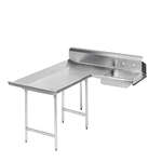 Advance Tabco DTS-D70-120L Dishlanding-Soil Dishtable